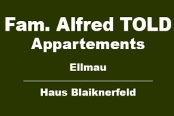 Appartements Familie Alfred Told